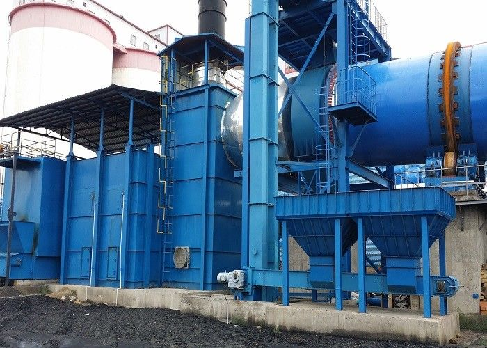 Large Capacity Rotary Dryer Machine For Mineral Powder ISO9001 Certification