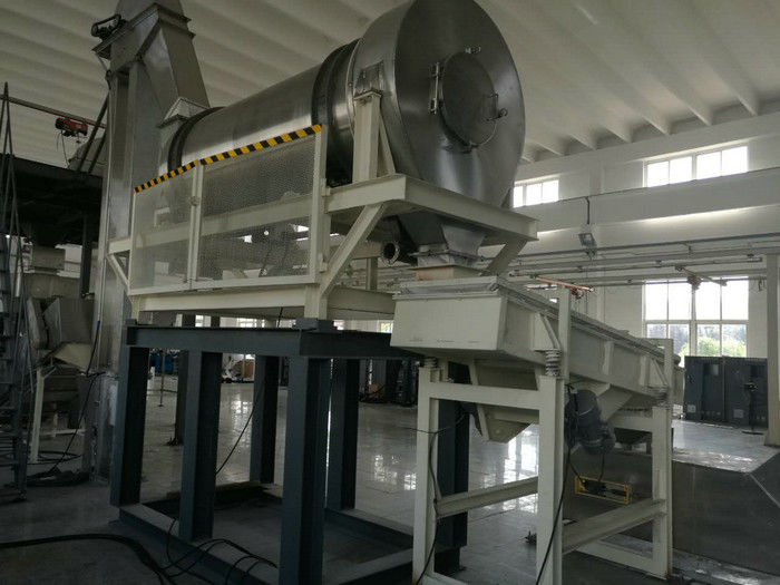 Batch Type Detergent Powder Mixing Machine / Washing Powder Making Machine