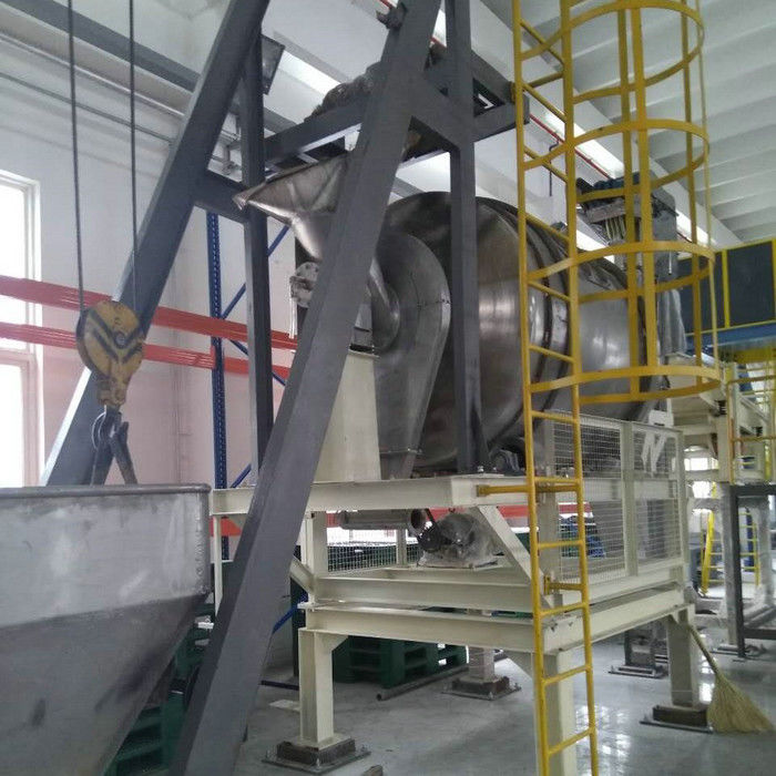 High Speed Washing Powder Production Line Saving Energy Consumption